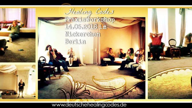 Herzlichen Dank für den wunderschönen Healing Codes Workshop mit euch in Berlin!