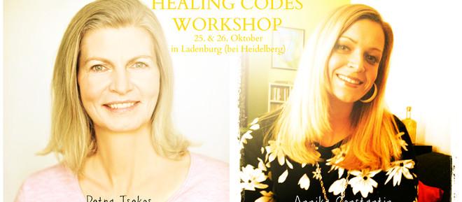 Healing Code Workshop am 25. und 26. Oktober 2014 in Ladenburg (bei Heidelberg)