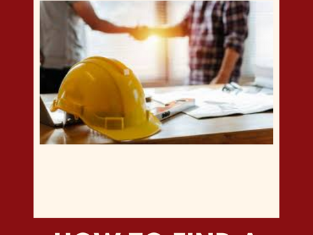 HOW TO PICK A LOCAL GENERAL CONTRACTOR