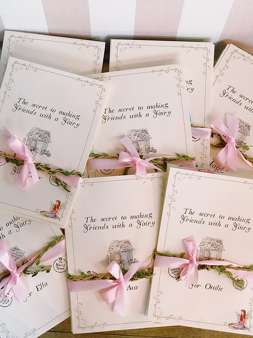 7 day Learn Fairy Secrets activity pack!