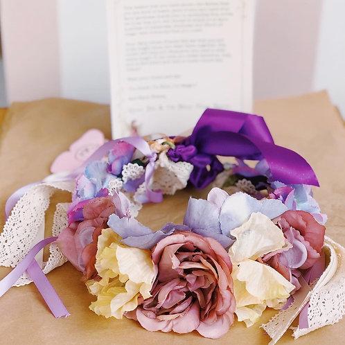 Handmade Fairy Crown- design your own!
