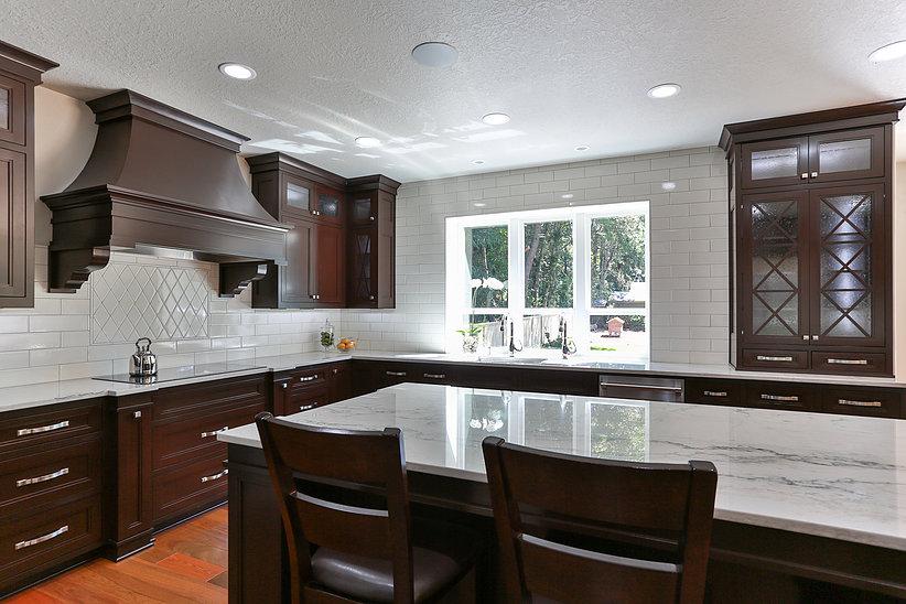 Nordic Homes-Mocha Kitchen