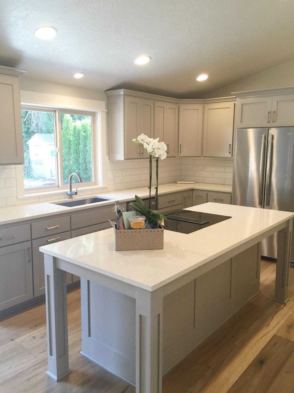 Nordic Homes-Gray Kitchen