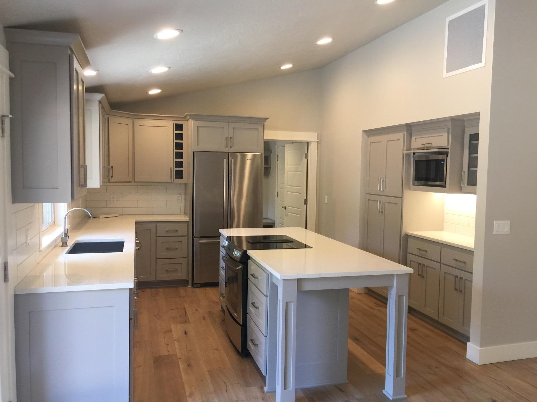 Nordic Homes- Gray Kitchen