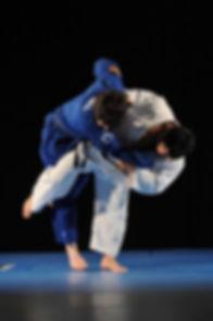 Judo harai goshi