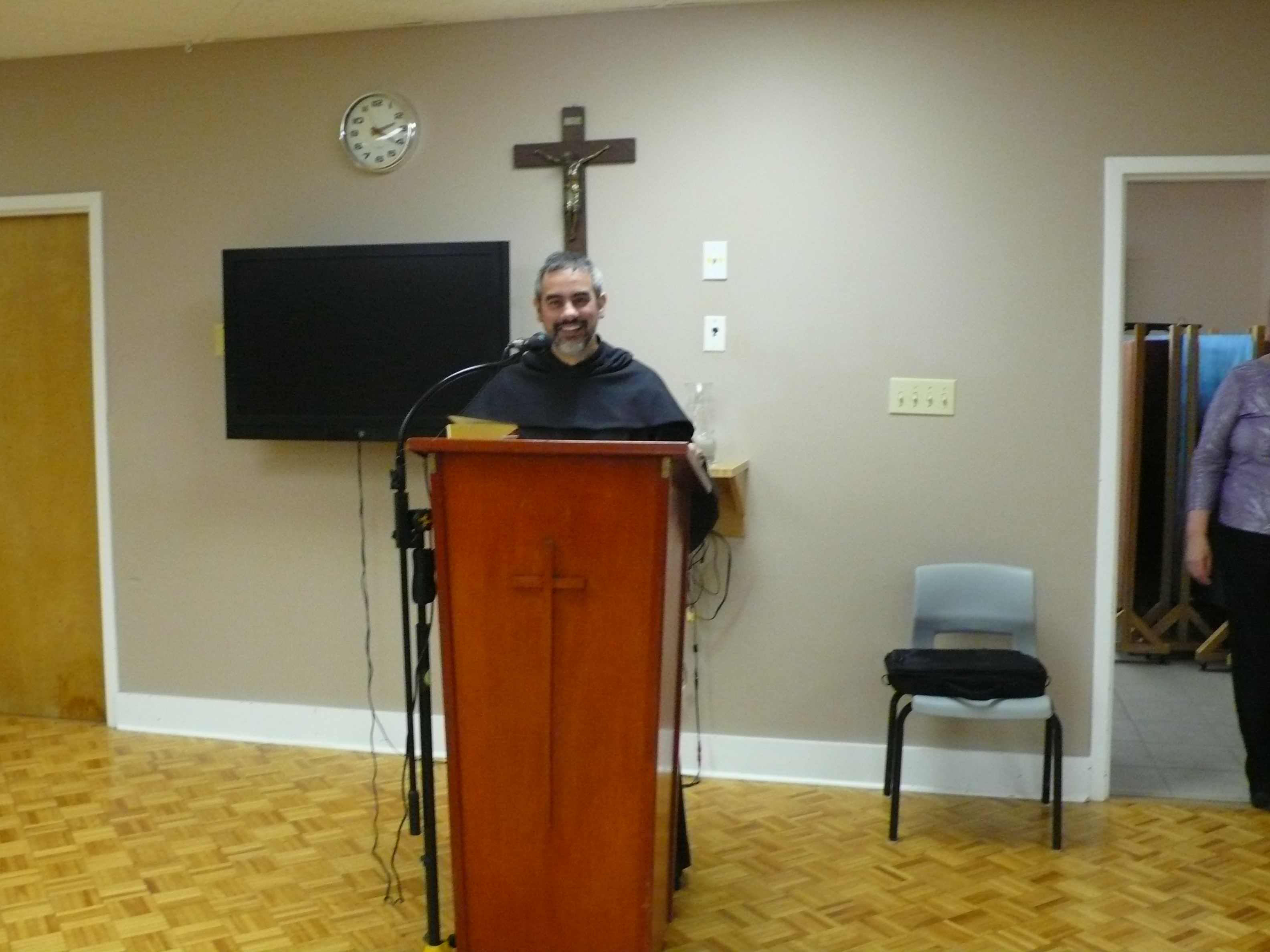 Father Francesco, Retreat Leader