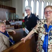 Diocesan convention 2018. Carolyn, Danie