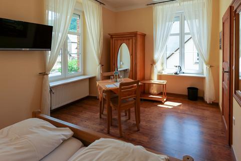 Helle Zimmer in der Alten Bürgermeisterei