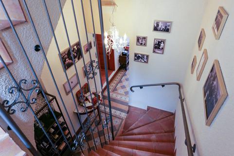 Treppengang der Alten Bürgermeisterei