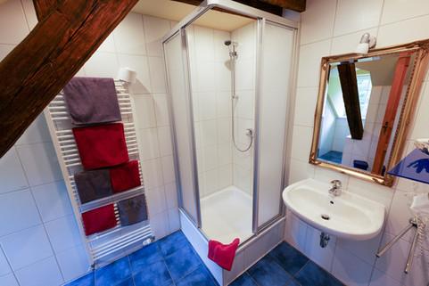 Badezimmer in der Alten Bürgermeisterei