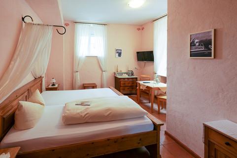 Romantische Zimmer in der Alten Bürgermeisterei