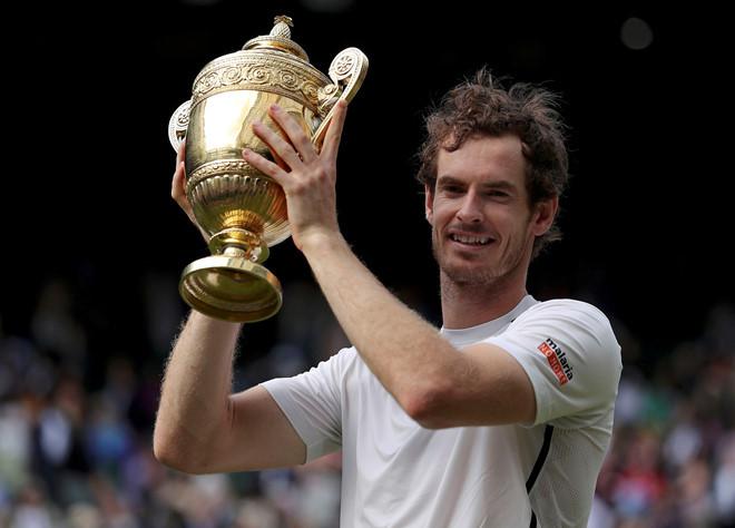 Tay vợt chủ Murray buồn bã khi giải đấu năm nay không được diễn ra. |JP88