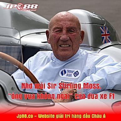 """Nhớ mãi Sir Stirling Moss, """"ông vua không ngai"""" của đua xe F1"""