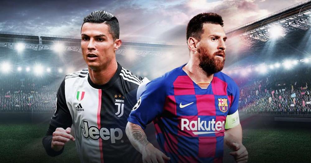 Ronaldo và Messi đều bị tụt giá trên TTCN.  JP88