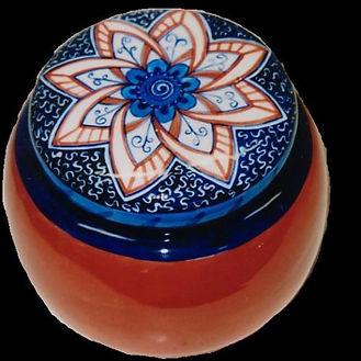 A Moroccan Style Trinket Box.