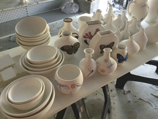 The new bisque firing