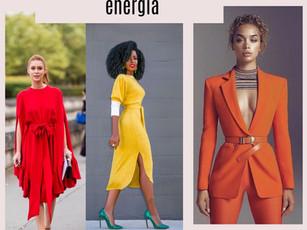 3 cores que transmitem energia