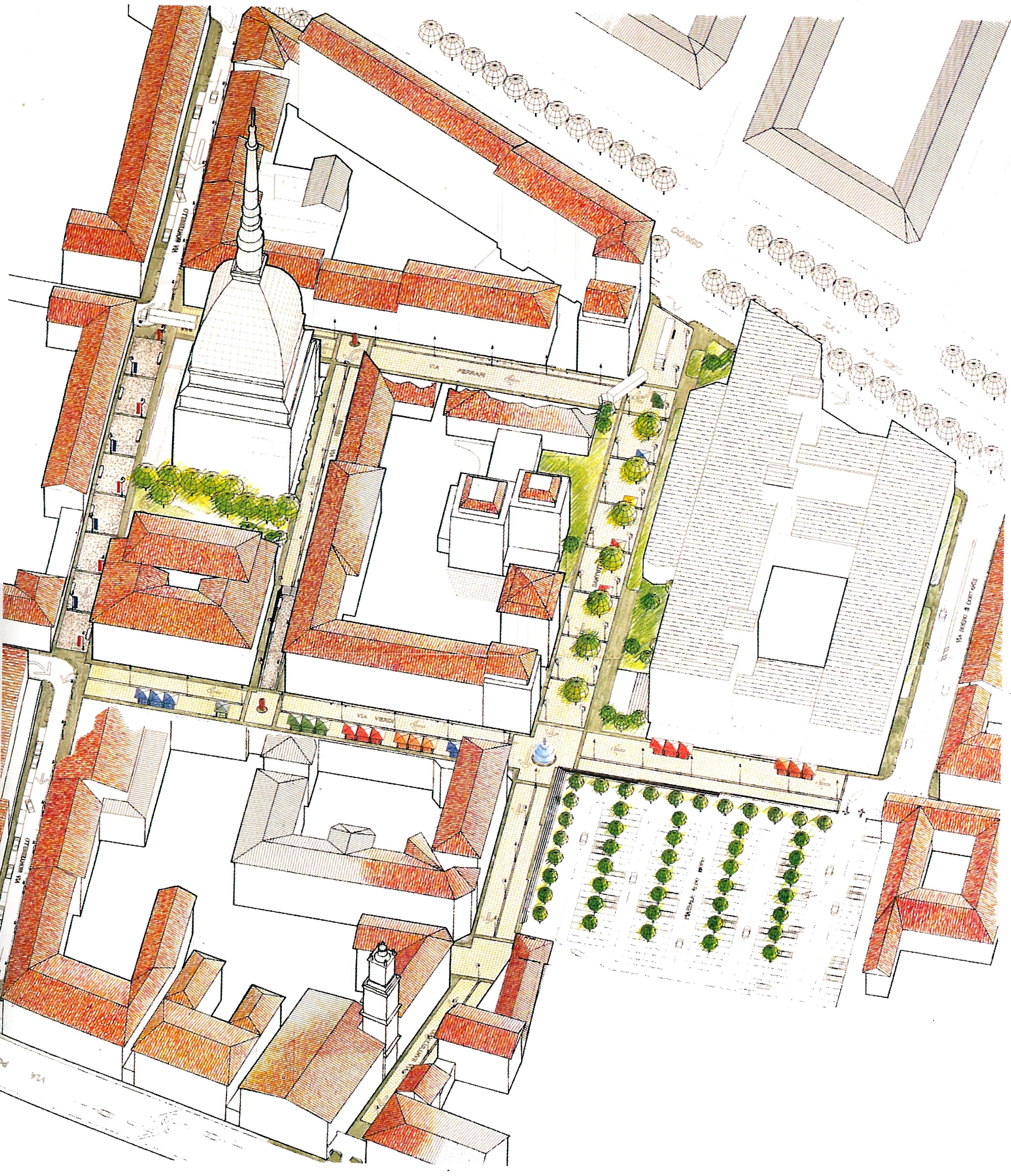 Progetto Area Mole Antonelliana