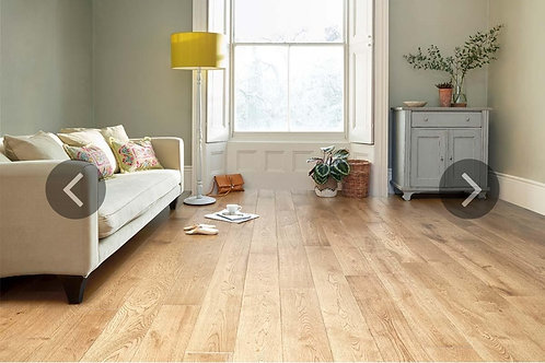 Engineered Rustic Oak Flooring 14mmx150mm Natural Lacquered