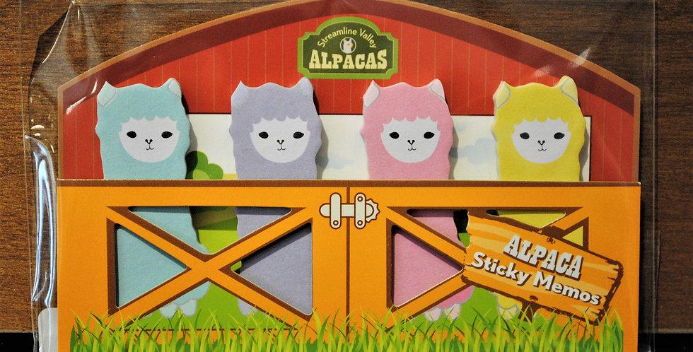 Memo tabs - Alpacas