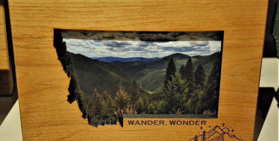 Wood frame - Wander, Wonder