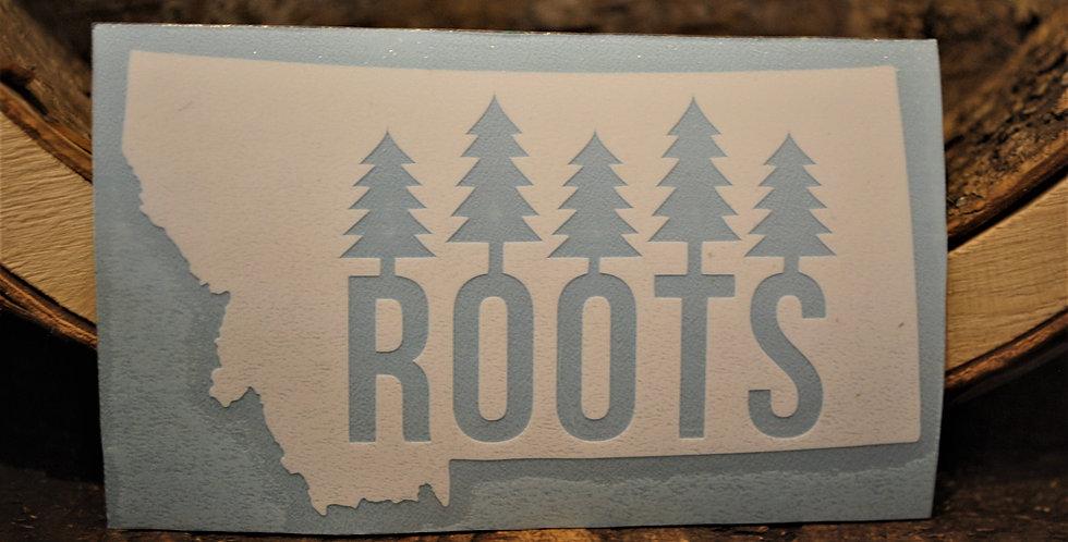 Sticker - Montana roots