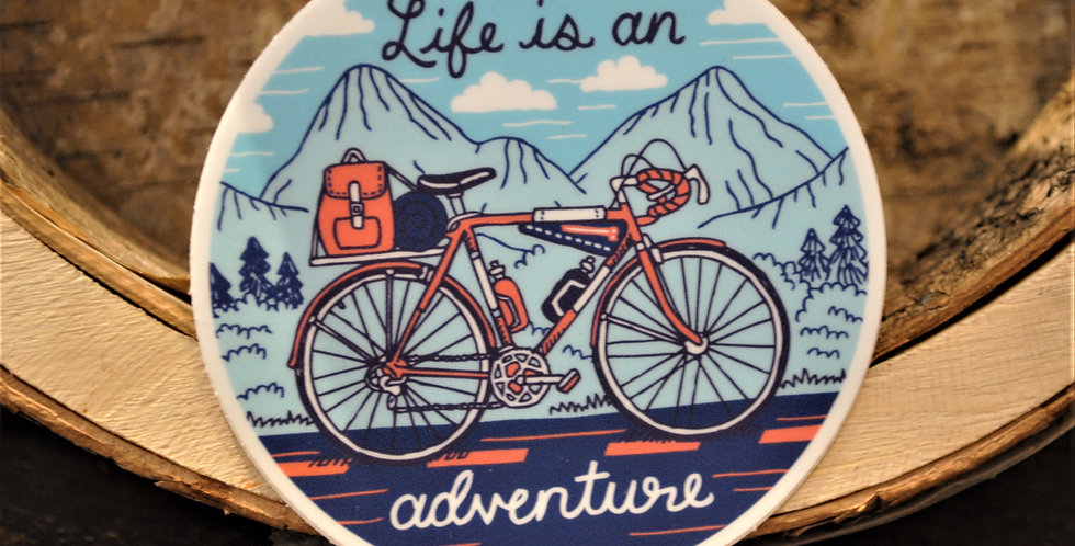 Sticker - Life is an adventure