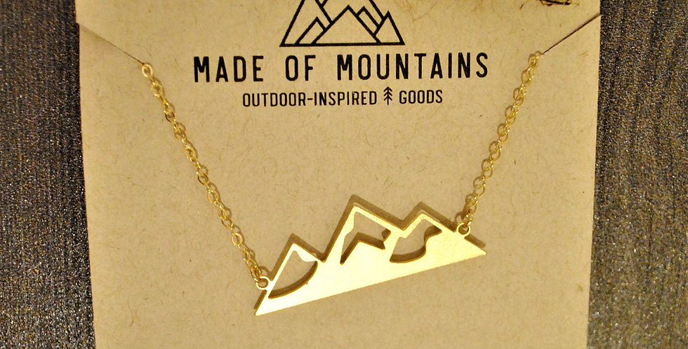 Necklace - Mountains