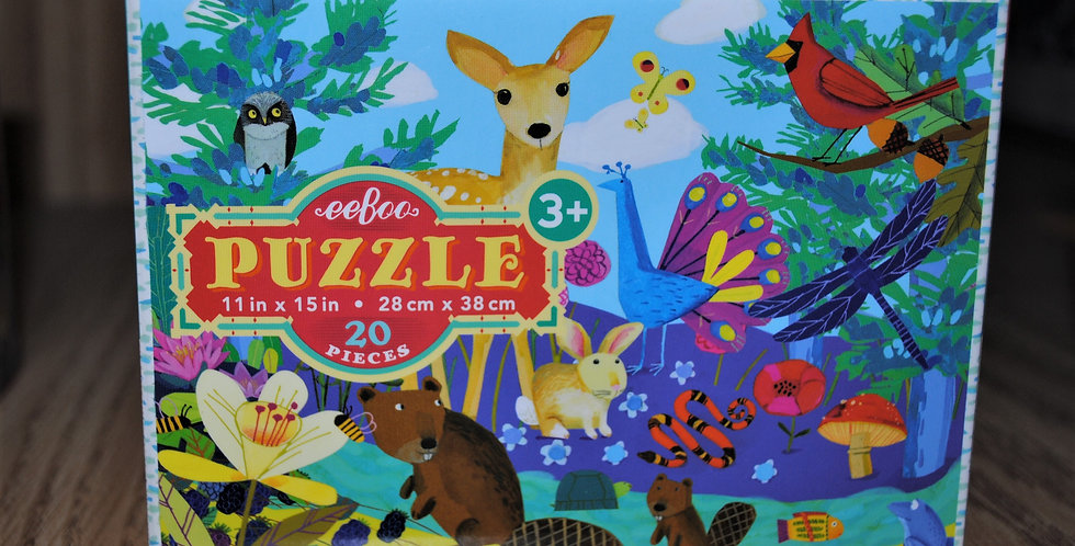 Puzzle -Forest animals