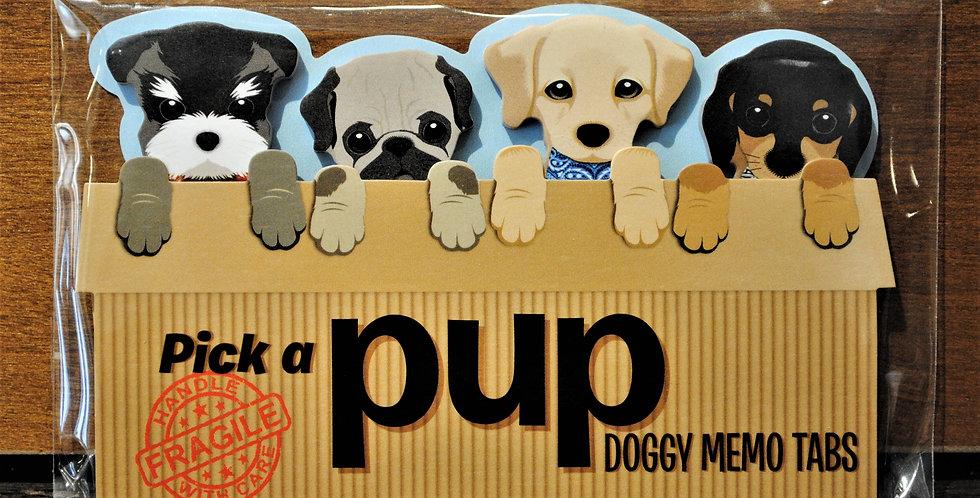 Memo tabs - Puppies