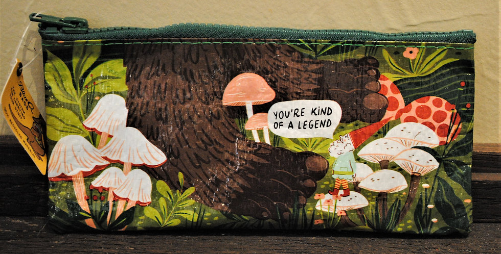 Zipper pencil style pouch - You're kind of a legend