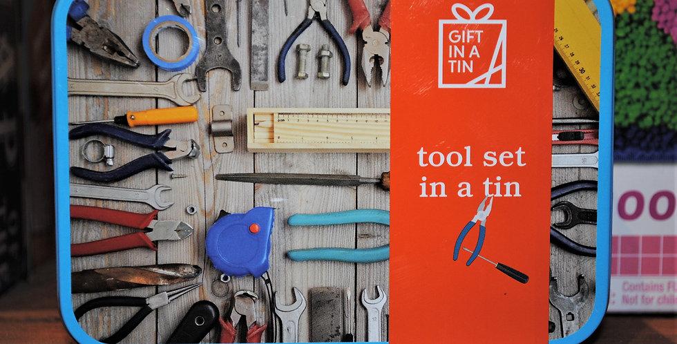 Gift tin - Tool set
