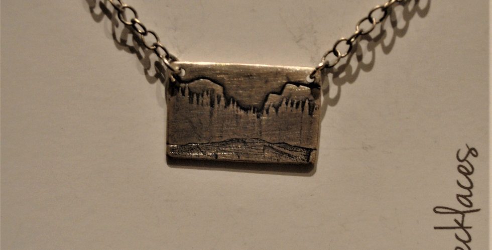 Necklace -Mountains -