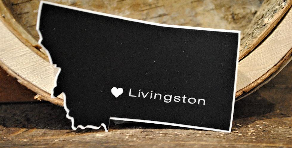 Sticker - Love Livingston