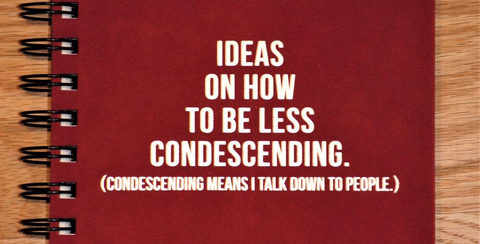 Journal - Ideas on how...