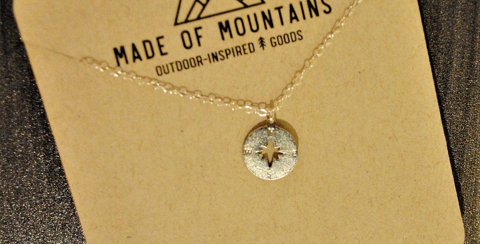 Necklace - compass