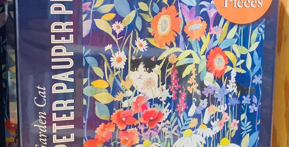 Puzzle - Garden cat