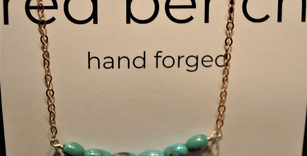 Necklace - turqoise