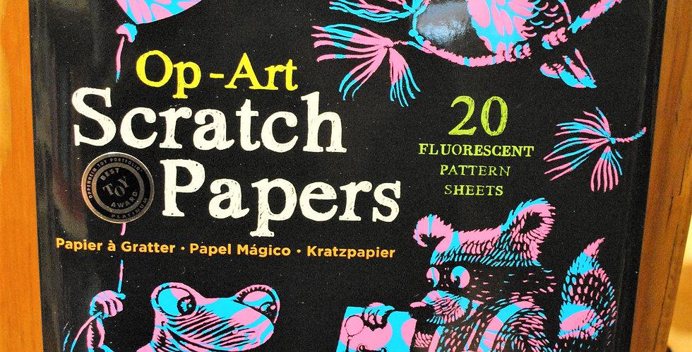 Scratch papers - Op-Art