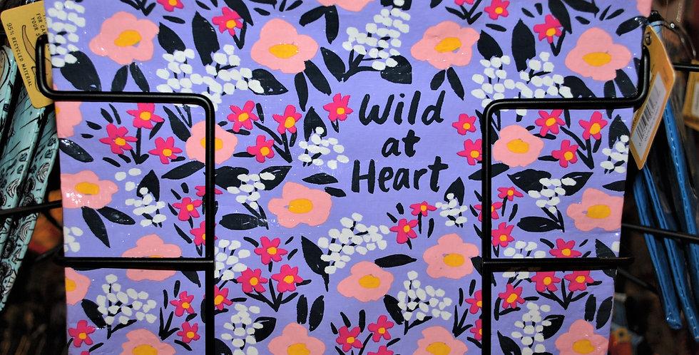 Zipper pouch - Wild at Heart