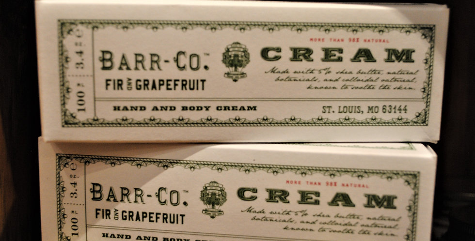 Hand Cream - Fir & Grapefruit