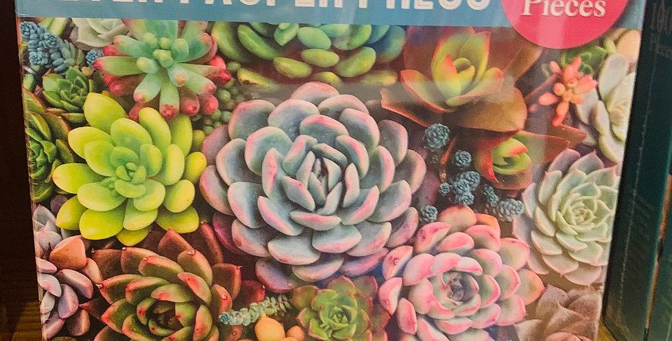 Puzzle - Succulent garden