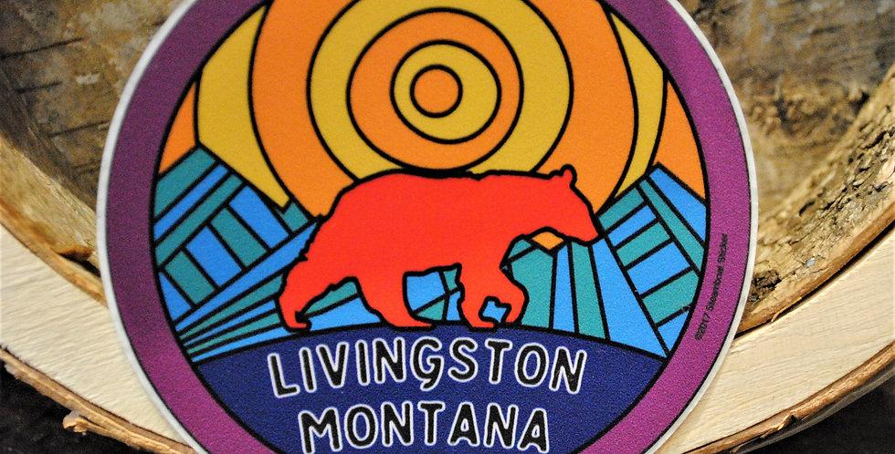 Sticker - Sunset bear