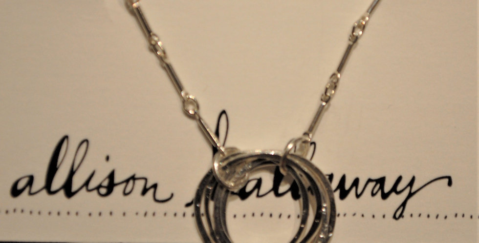 Necklace - multi rings
