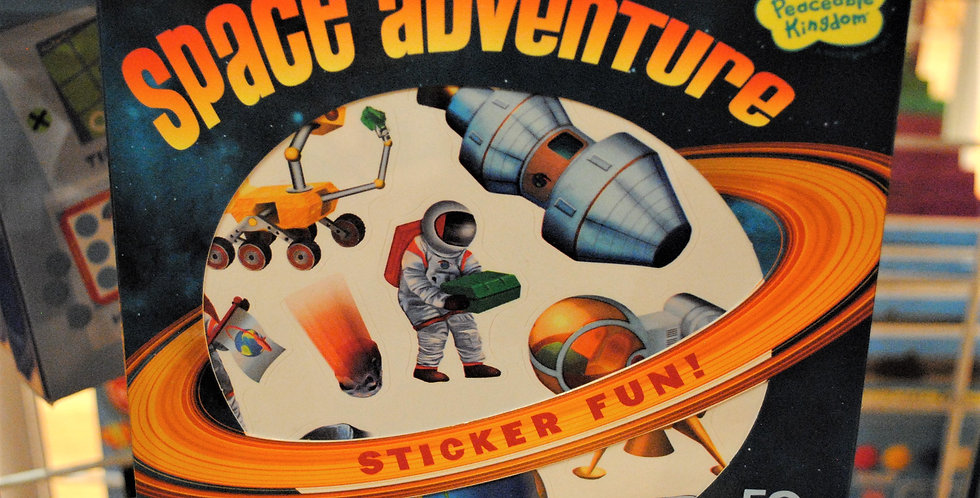 Sticker fun - Space adventure
