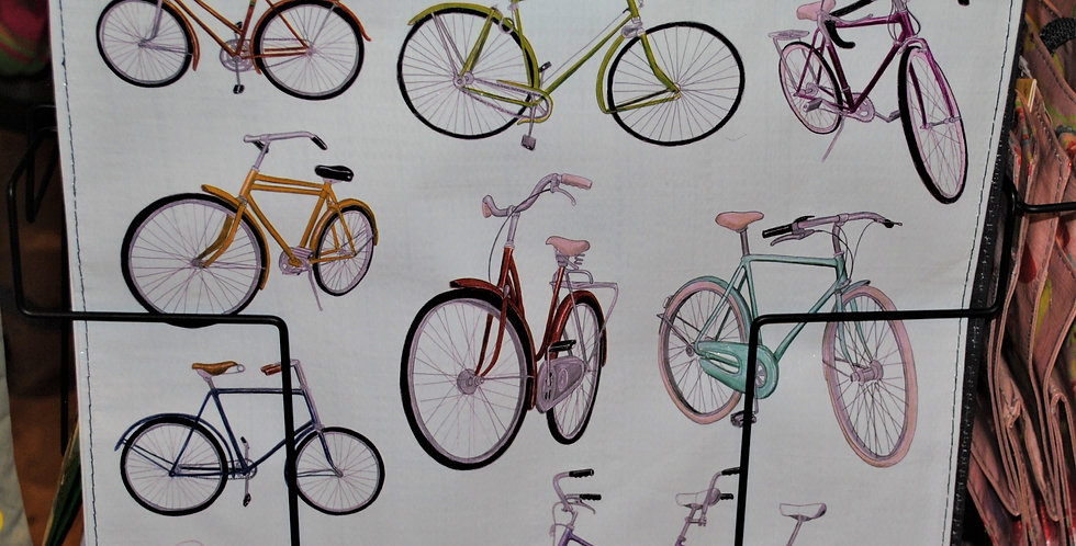 Shopping tote - Bicycles