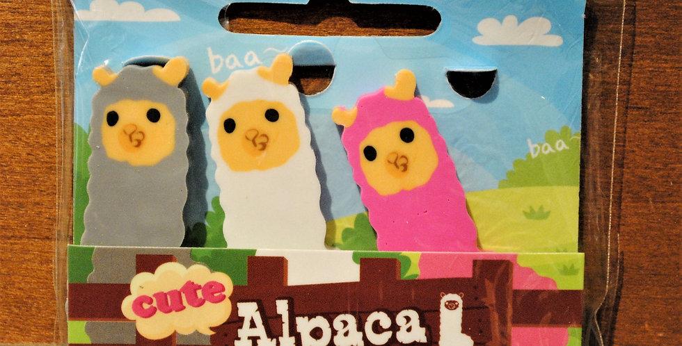 Erasers - Alpaca