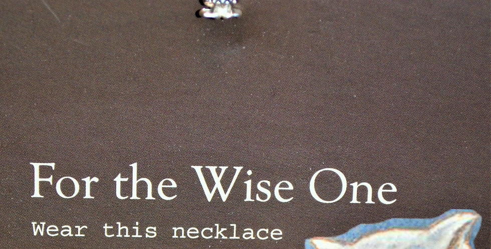 Necklace - For the wise one