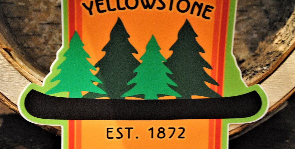 Sticker - Yellowstone Est. 1872
