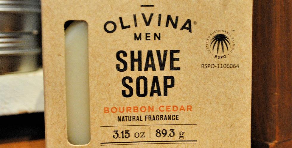 Shave soap Bourbon cedar